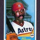 1981 Topps Baseball #469 Jeff Leonard - Houston Astros