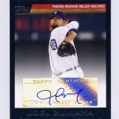 2007 Topps Baseball Highlights Autographs #JZ Joel Zumaya - Detroit Tigers AUTO