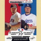 2007 Topps Baseball Trading Places #TP25 Jason Schmidt - Los Angeles Dodgers