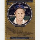 2007 Topps Baseball Distinguished Service #DS24 Red Schoendienst - St. Louis Cardinals