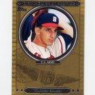2007 Topps Baseball Distinguished Service #DS22 Warren Spahn - Boston Braves