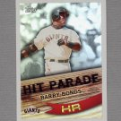 2007 Topps Baseball Hit Parade #HP01 Barry Bonds - San Francisco Giants