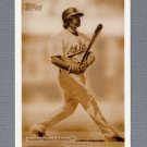 2007 Topps Baseball Wal-Mart #WM33 Nick Swisher - Oakland A's