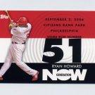 2007 Topps Baseball Generation Now #GN201 Ryan Howard - Philadelphia Phillies