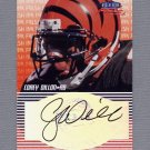 1999 Fleer Focus Football Fresh Ink #09 Corey Dillon - Cincinnati Bengals AUTO
