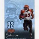 2006 Flair Showcase Football #021 Rudi Johnson - Cincinnati Bengals