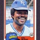 1981 Topps Baseball #295 Hal McRae - Kansas City Royals