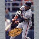 1995 Fleer Baseball Lumber Company #03 Barry Bonds - San Francisco Giants