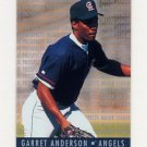1995 Fleer Baseball Major League Prospects #01 Garret Anderson - California Angels