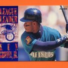 1995 Fleer Baseball League Leaders #02 Ken Griffey Jr. - Seattle Mariners