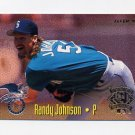 1995 Fleer Baseball All-Stars #21 Randy Johnson - Mariners / John Hudek - Astros