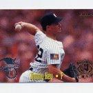 1995 Fleer Baseball All-Stars #09 Jimmy Key - New York Yankees / Greg Maddux - Atlanta Braves