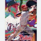 1995 Fleer Baseball #399 Mike Lieberthal - Philadelphia Phillies