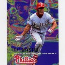 1995 Fleer Baseball #390 Lenny Dykstra - Philadelphia Phillies