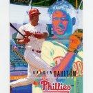 1995 Fleer Baseball #388 Darren Daulton - Philadelphia Phillies
