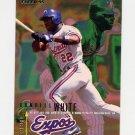 1995 Fleer Baseball #364 Rondell White - Montreal Expos