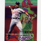 1995 Fleer Baseball #361 Larry Walker - Montreal Expos
