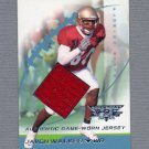 2002 Topps Debut Football #158 Javon Walker RC - Green Bay Packers Game-Used Jersey 0167/1499
