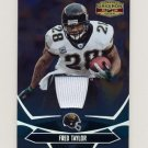 2008 Donruss Gridiron Gear Jerseys #47 Fred Taylor - Jacksonville Jaguars Game-Used Jersey 046/250