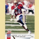 2002 Pacific Football #463 Javon Walker RC - Green Bay Packers