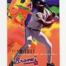 1995 Fleer Baseball #312 Fred McGriff - Atlanta Braves