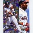 1995 Fleer Baseball #227 Bo Jackson - California Angels