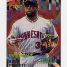 1995 Fleer Baseball #212 Kirby Puckett - Minnesota Twins