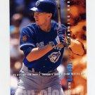 1995 Fleer Baseball #102 John Olerud - Toronto Blue Jays