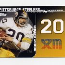 2008 Topps Football Dynasties #DYNRB Rocky Bleier - Pittsburgh Steelers