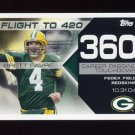 2008 Topps Football Brett Favre Collection #BF360 Brett Favre - Green Bay Packers