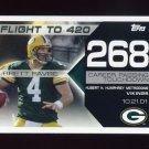 2008 Topps Football Brett Favre Collection #BF268 Brett Favre - Green Bay Packers