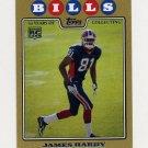 2008 Topps Football Gold Border #367 James Hardy RC - Buffalo Bills 1387/2008