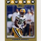 2008 Topps Football Gold Border #135 James Jones - Green Bay Packers 1387/2008
