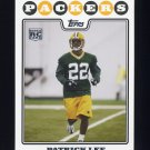 2008 Topps Football #431 Patrick Lee RC - Green Bay Packers