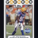 2008 Topps Football #307 Donald Driver PB - Green Bay Packers