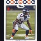 2008 Topps Football #256 Dre Bly - Denver Broncos
