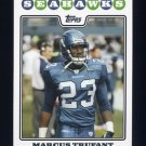 2008 Topps Football #249 Marcus Trufant - Seattle Seahawks