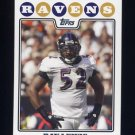 2008 Topps Football #245 Ray Lewis - Baltimore Ravens