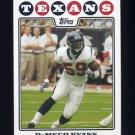 2008 Topps Football #238 DeMeco Ryans - Houston Texans