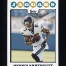 2008 Topps Football #170 Dennis Northcutt - Jacksonville Jaguars