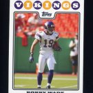 2008 Topps Football #164 Bobby Wade - Minnesota Vikings