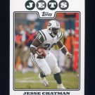 2008 Topps Football #098 Jesse Chatman - New York Jets