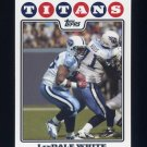 2008 Topps Football #073 LenDale White - Tennessee Titans