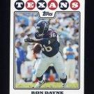 2008 Topps Football #062 Ron Dayne - Houston Texans