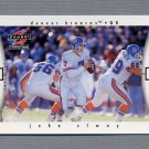 1997 Score Football #329 John Elway CL - Denver Broncos