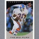 1997 Score Football #310 Terrell Davis TBP - Denver Broncos