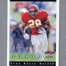 1997 Score Football #282 Troy Davis RC - New Orleans Saints