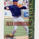 2000 Royal Rookies Baseball Futures Wall Street Alex Rodriguez #5 Alex Rodriguez - Seattle Mariners