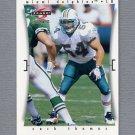 1997 Score Football #257 Zach Thomas - Miami Dolphins