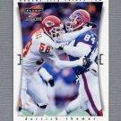1997 Score Football #126 Derrick Thomas - Kansas City Chiefs
